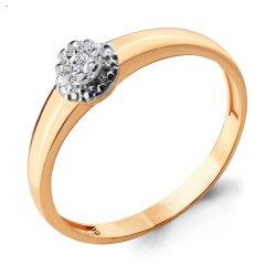 Inel de logodnă din aur ACVAMARIN art 962974k